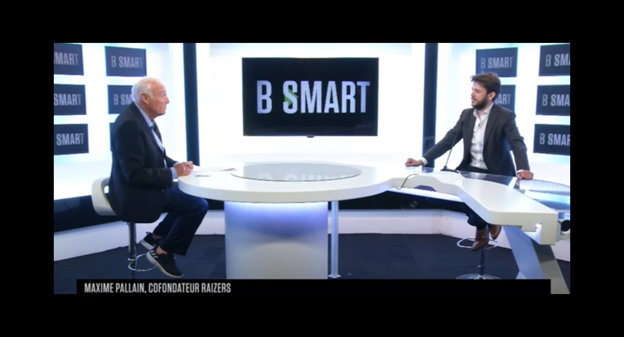 interview Maxime Pallain sur BSmart TV - Raizers